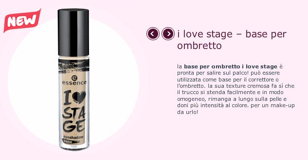 I ♥ stage - base ombretto essence