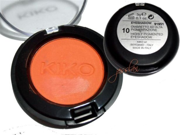Ombretto arancione Kiko