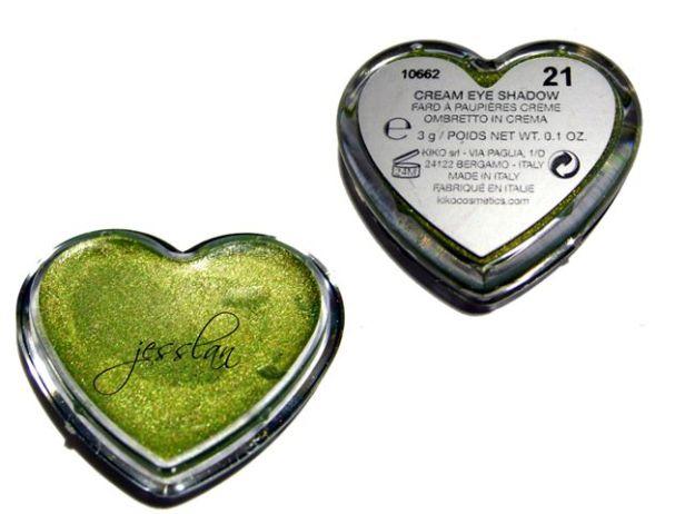 Ombretto in crema verde #21 - Kiko