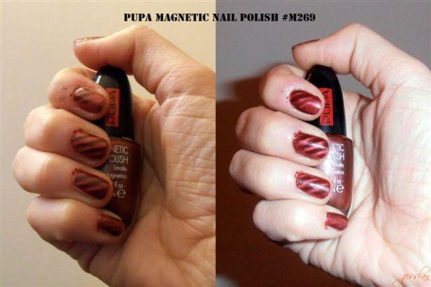 Pupa Magnetic Effect