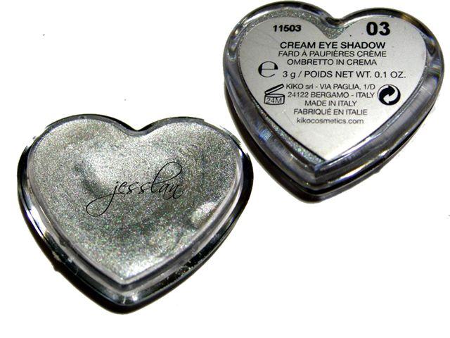 Ombretto in crema argento #3 - Kiko