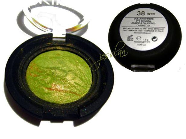 Ombretto sphere verde - Kiko
