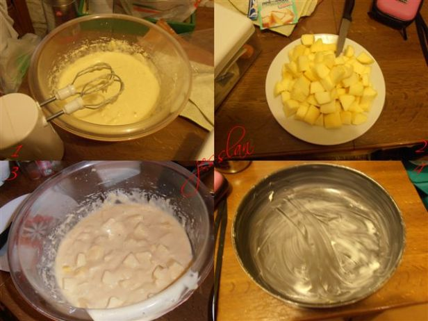 Passaggi torta di mele