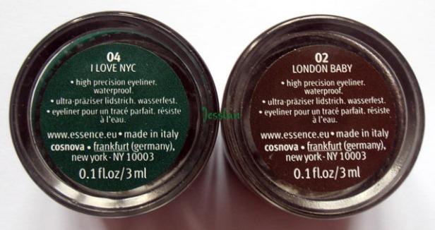 eyeliner gel essence
