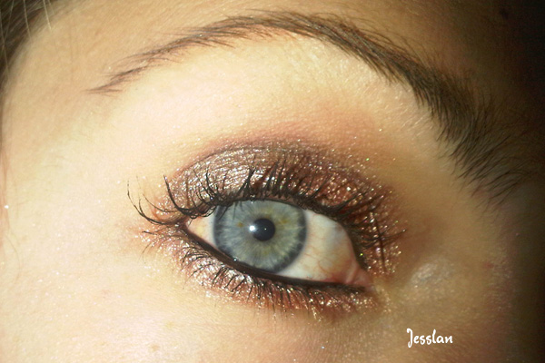 trucco marrone con astra soul browny e coppery (1)