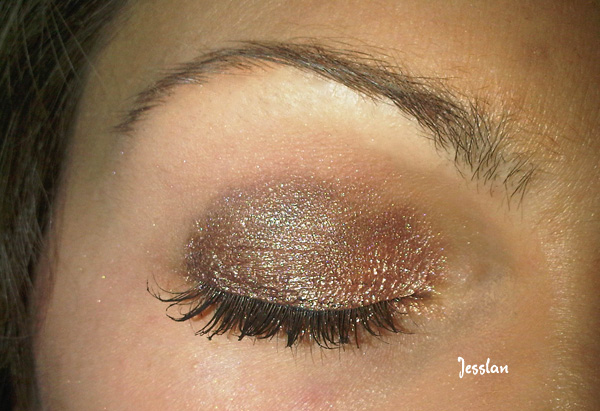 trucco marrone con astra soul browny e coppery (2)