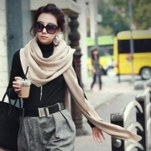 MART OF CHINA - Oversized Knitting Scarf - 5.36€