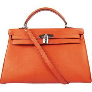 Borsa modello Birkin Rossa|Arancione|Nera