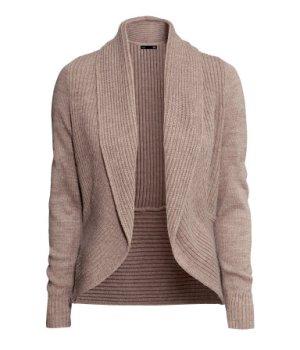 H&M - Cardigan collo a scialle beige - 19.95€