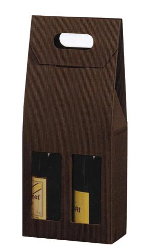 Cartone da due bottiglie di vino - prezzo variabile