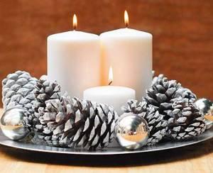 DIY Xmas Candles