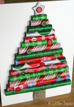 Wrapping Paper Christmas Tree