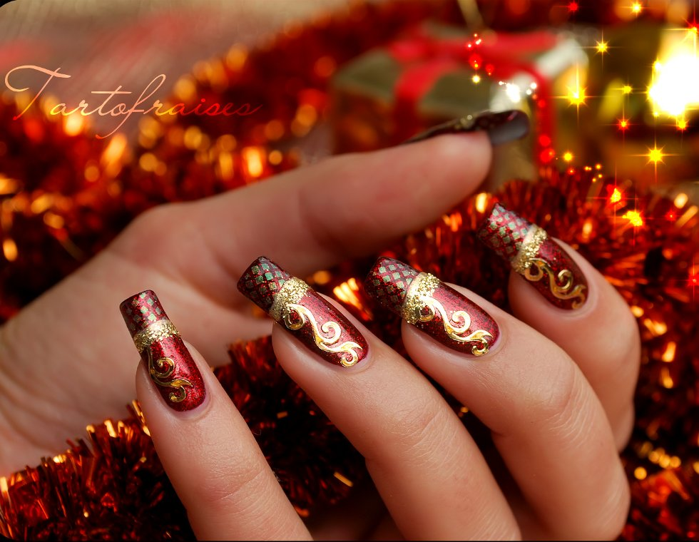 Image result for xmas nails