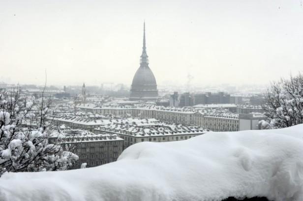 Torino innevata