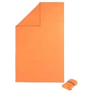 decathlon telo microfibra arancione