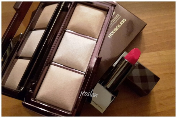 hourglass lightpalette rossetto burberry crimson pink