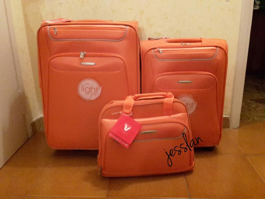 set valige roncato Runner Light arancione