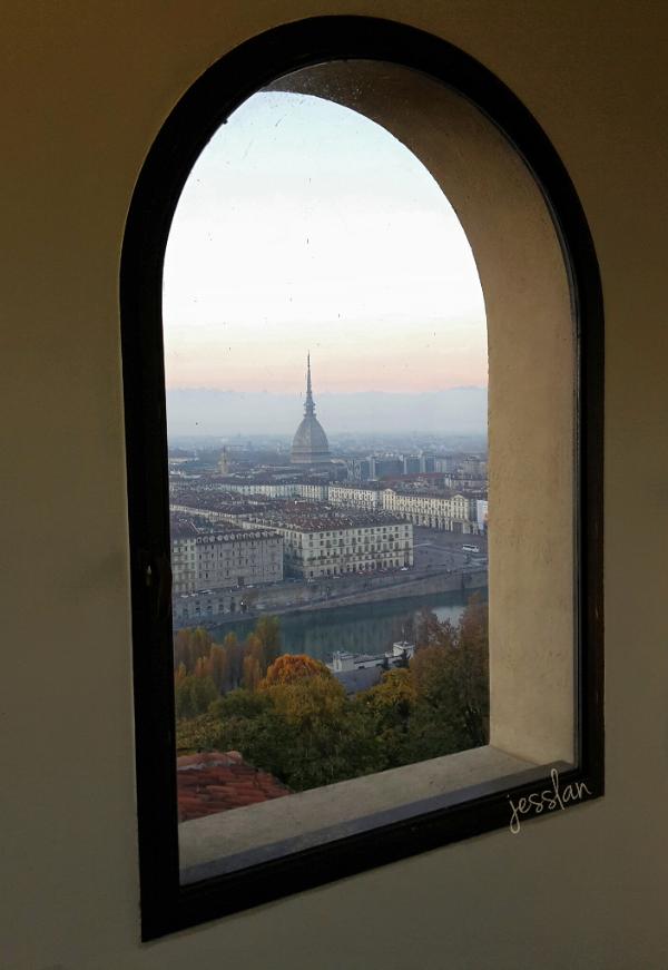Mole dalla finestra del Museo della Montagna