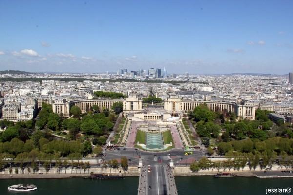 parigi - dalla tour eiffel (1)