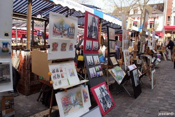 parigi - place du tertre