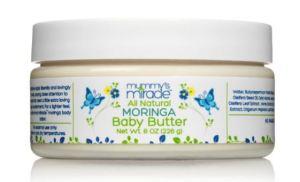Crema al burro totalmente naturale e idratante alla Moringa per Mamma e Bambino per Pelli sensibili