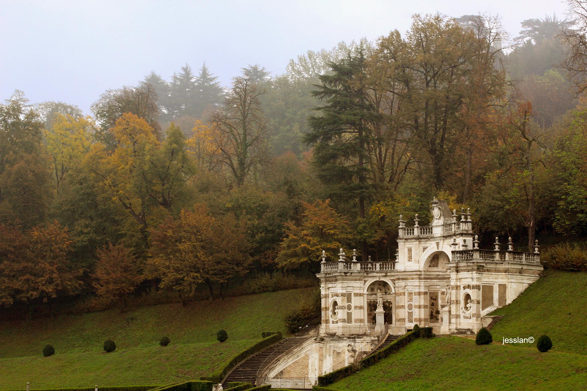 Cortile della Villa della Regina (Torino)
