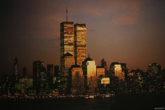 Torri gemelle (foto nel 9/11 museum)