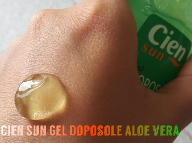 Cien Sun - Gel doposole aloe vera