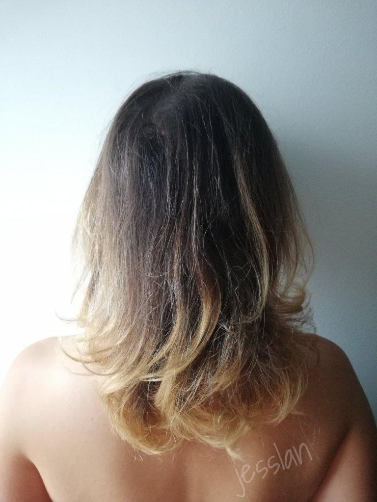 Colore dei capelli prima dell'applicazione