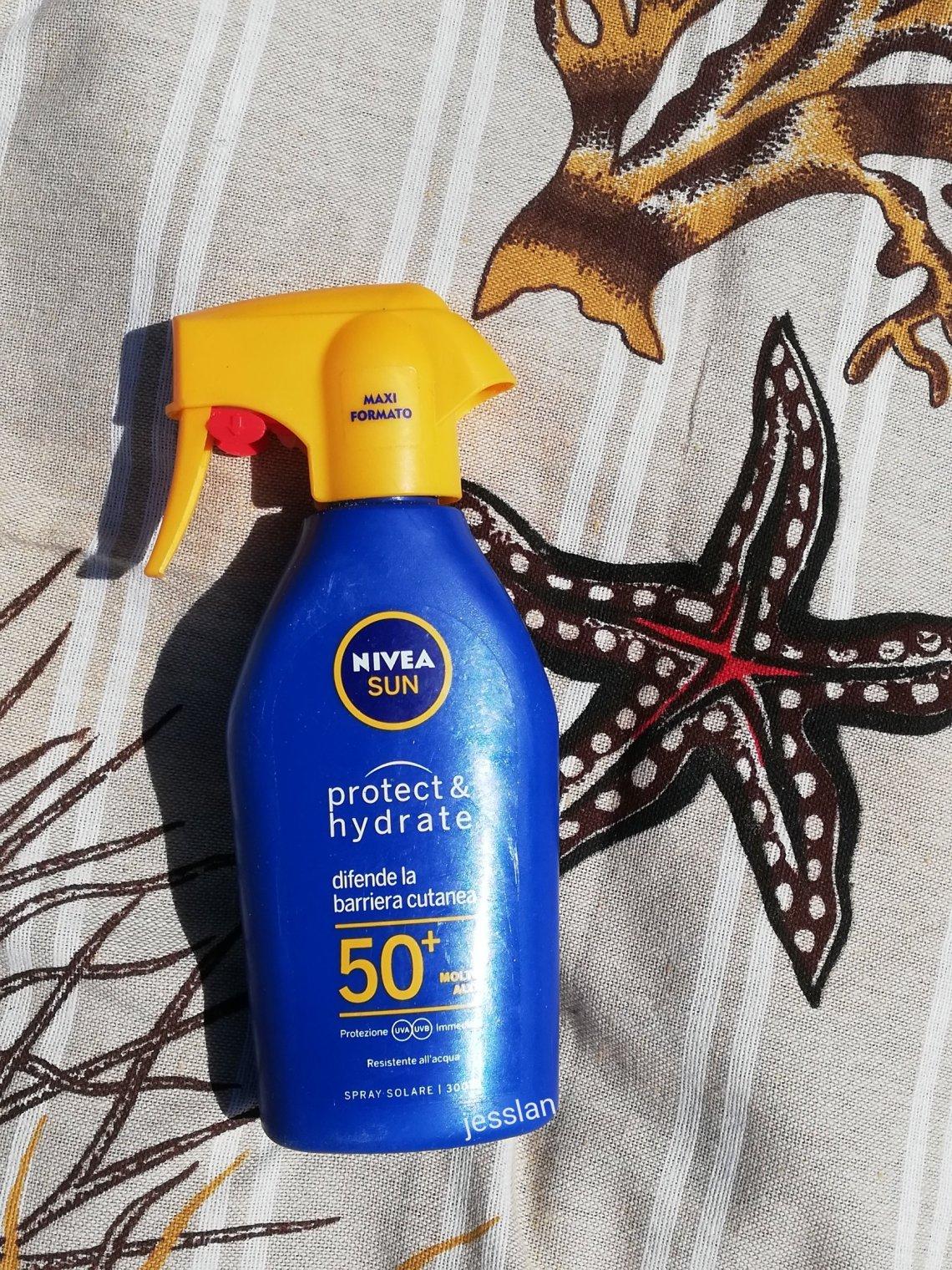 Nivea Sun spray spf50+