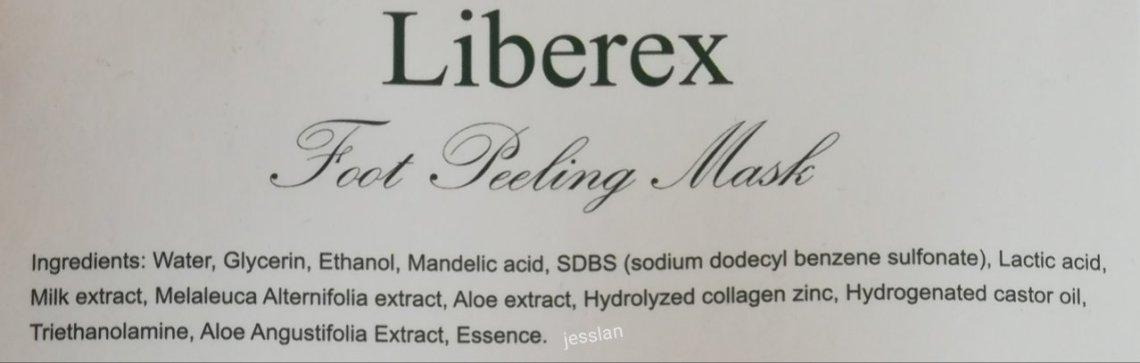 Inci Liberex Foot Peeling Mask